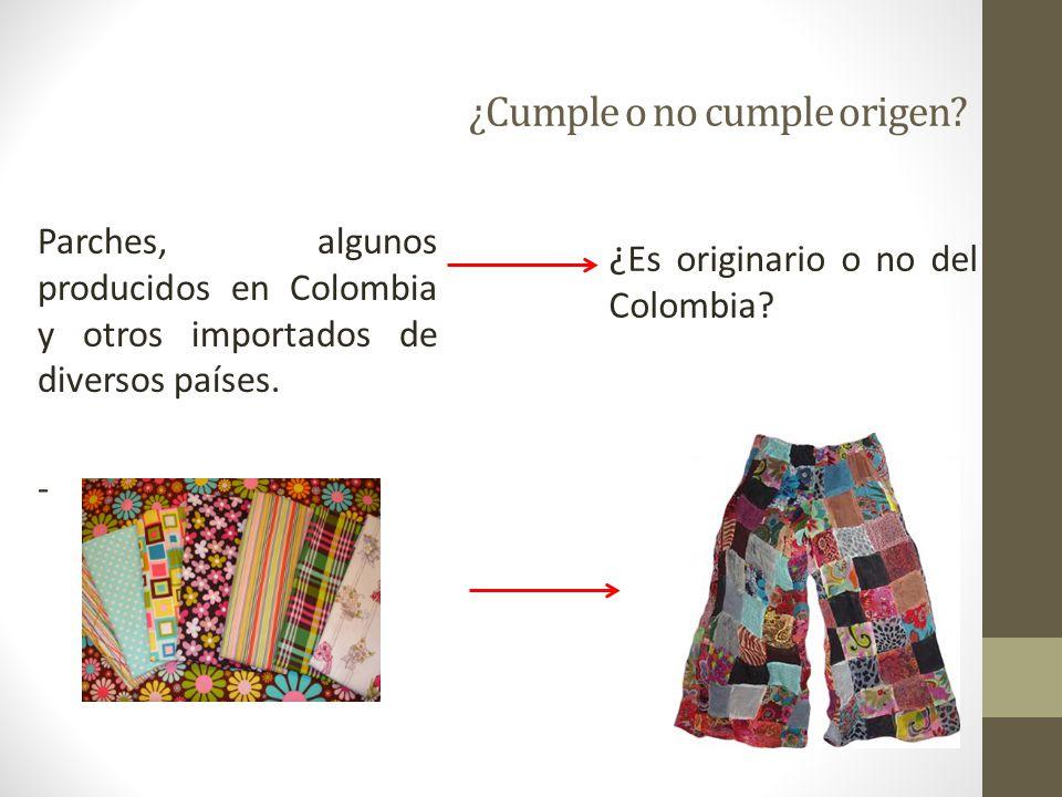 146 Acumulación de Origen Ampliada Permitir que mercancías originarias de otros países que no son parte de Acuerdo, sean originarias de Colombia.