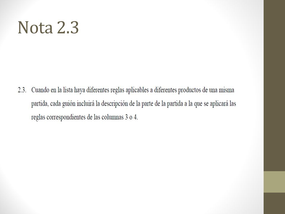 Nota 2.3