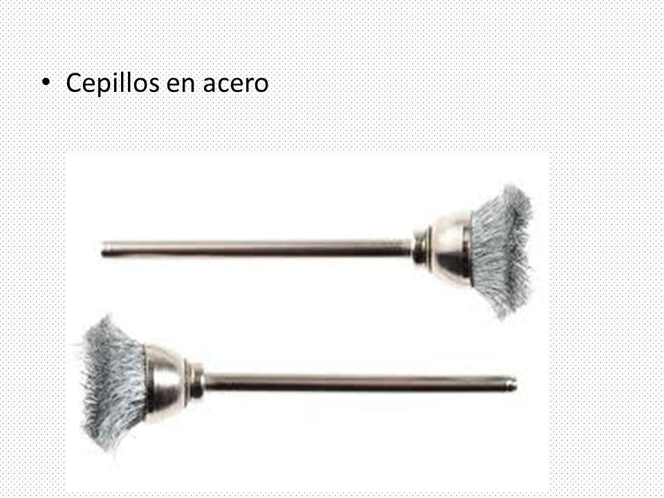Cepillos en acero