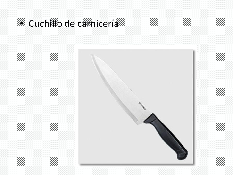 Cuchillo de carnicería