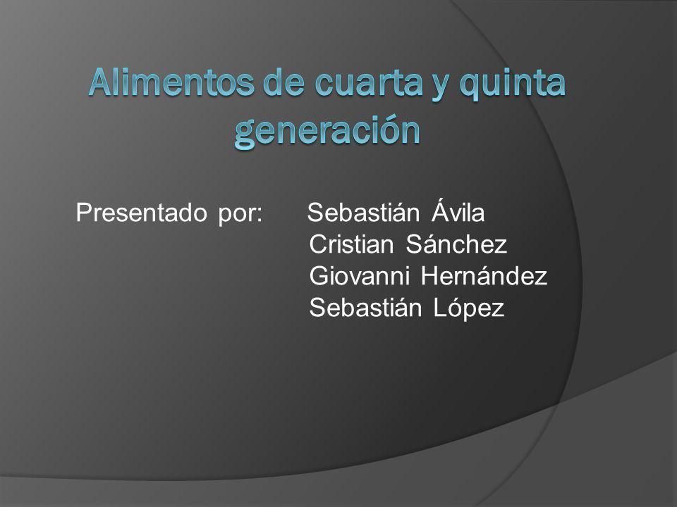 Presentado por: Sebastián Ávila Cristian Sánchez Giovanni Hernández Sebastián López