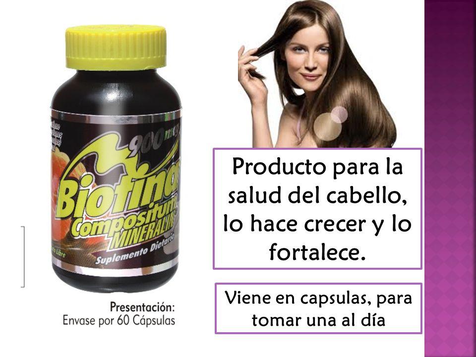 Biotina…………………………………..900 mcg Vitamina B6…………………………….......2 mg Acido pantotenico……………………….100 mg Vitamina C………………………………...50 mg Prolina ………………………..…………..50 mg Cisteina ……………………………………50 mg Silicio…………………………….….…….50.mg Cobre ………………………………………1mg Zinc…………………………………..………………….10 mg Selenio…………………………….………………….50 mcg Calcio………………………………..………………….20 mg Hierro……………………………………………………….5mg Zinc…………………………………..………………….10 mg Selenio…………………………….………………….50 mcg Calcio………………………………..…………………20 mg Hierro……………………………………………………..5mg