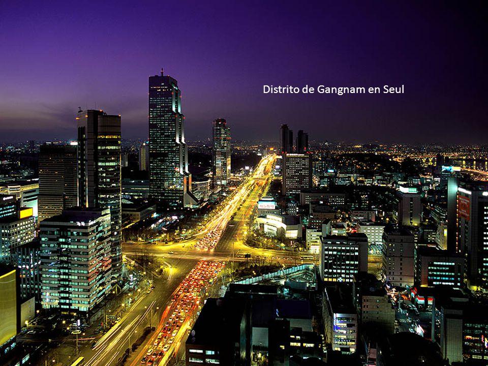 Distrito de Gangnam en Seul