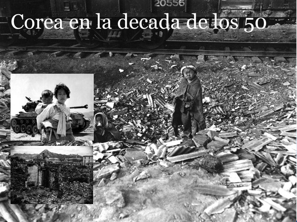Corea en la decada de los 50