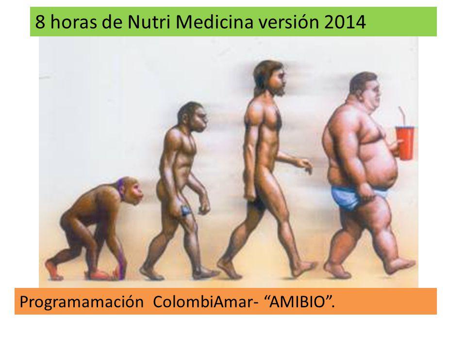 8 horas de Nutri Medicina versión 2014 Programamación ColombiAmar- AMIBIO.