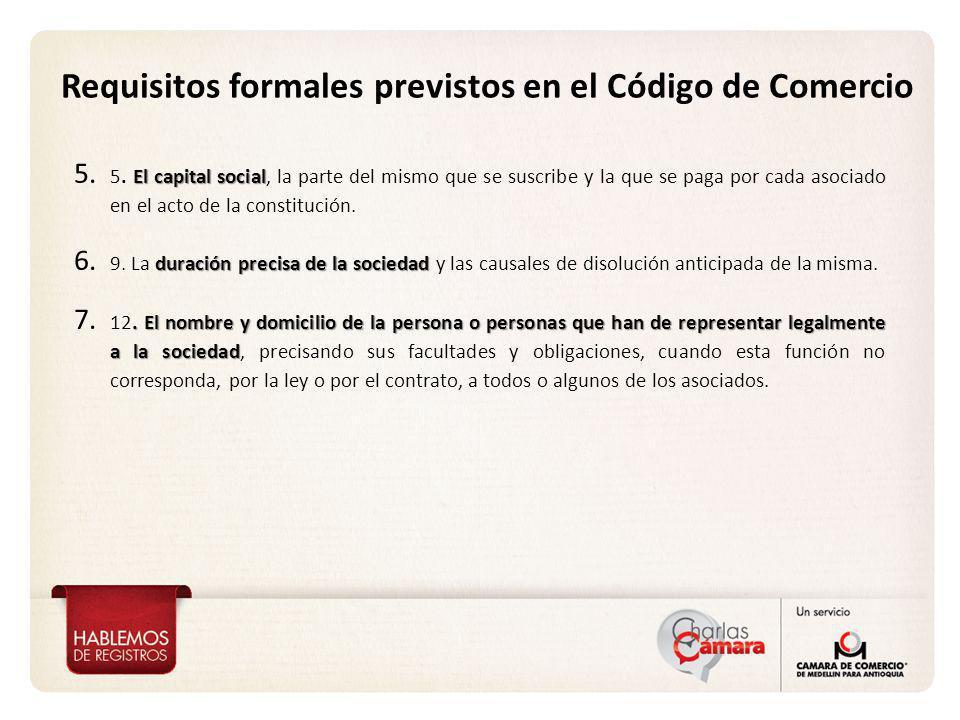 Vicepresidencia de Proyección Corporativa Requisitos formales previstos en el Decreto 4463 de 2006* Art.