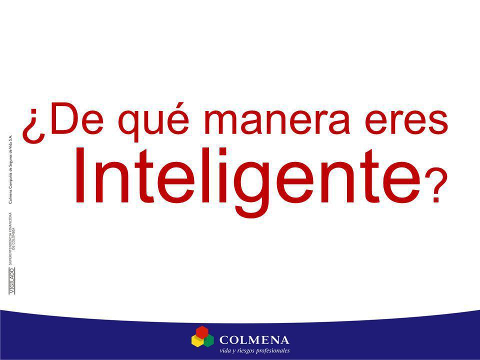 ¿ De qué manera eres Inteligente ?