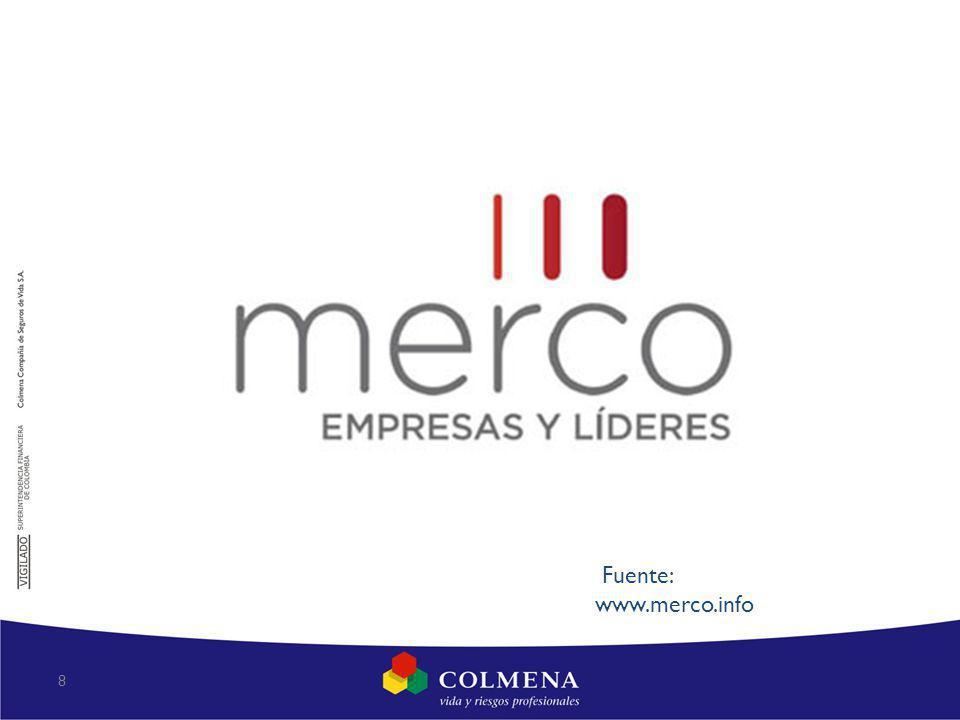 8 Fuente: www.merco.info