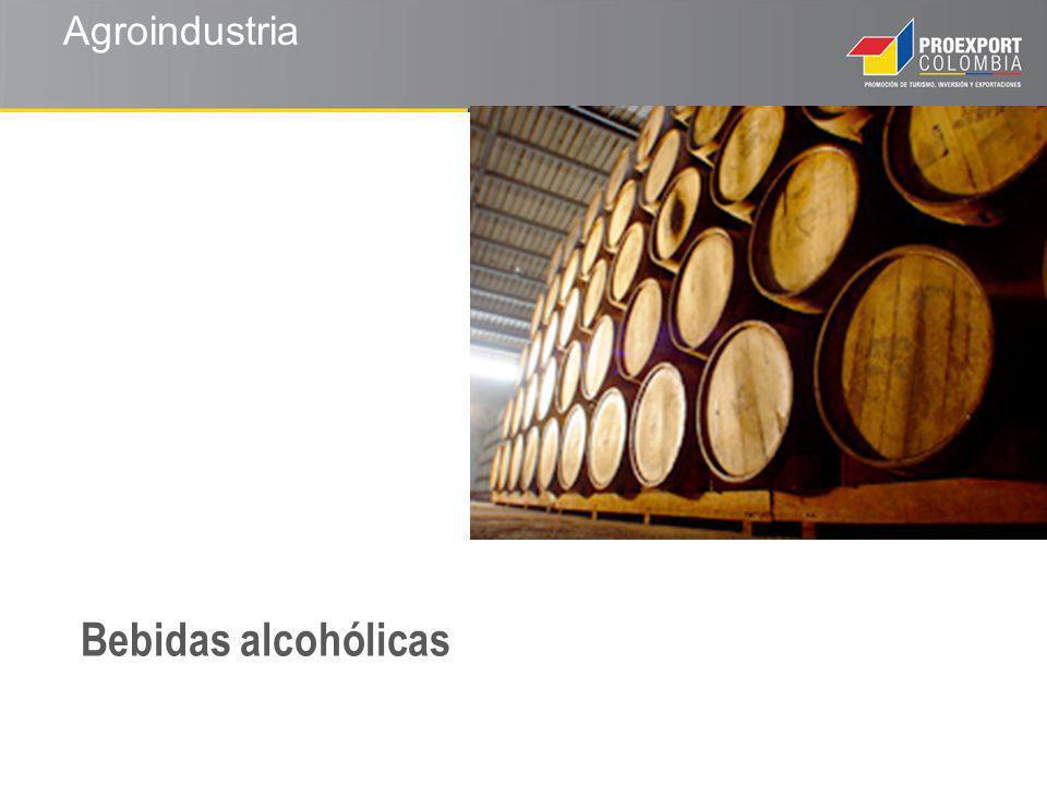 Agroindustria Bebidas alcohólicas
