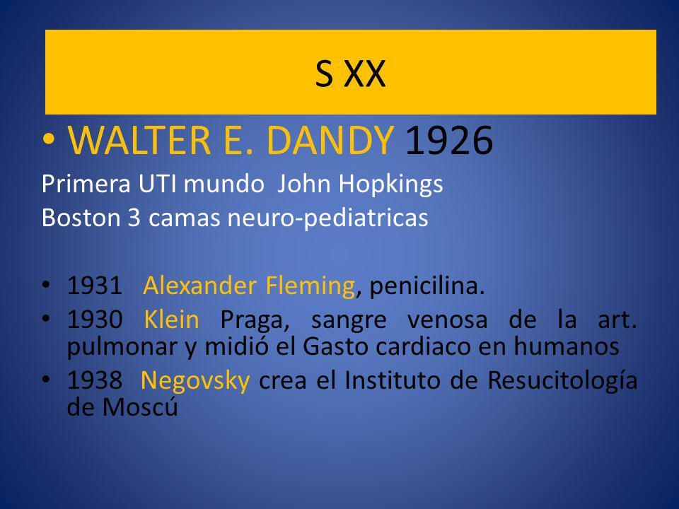 S XX WALTER E.