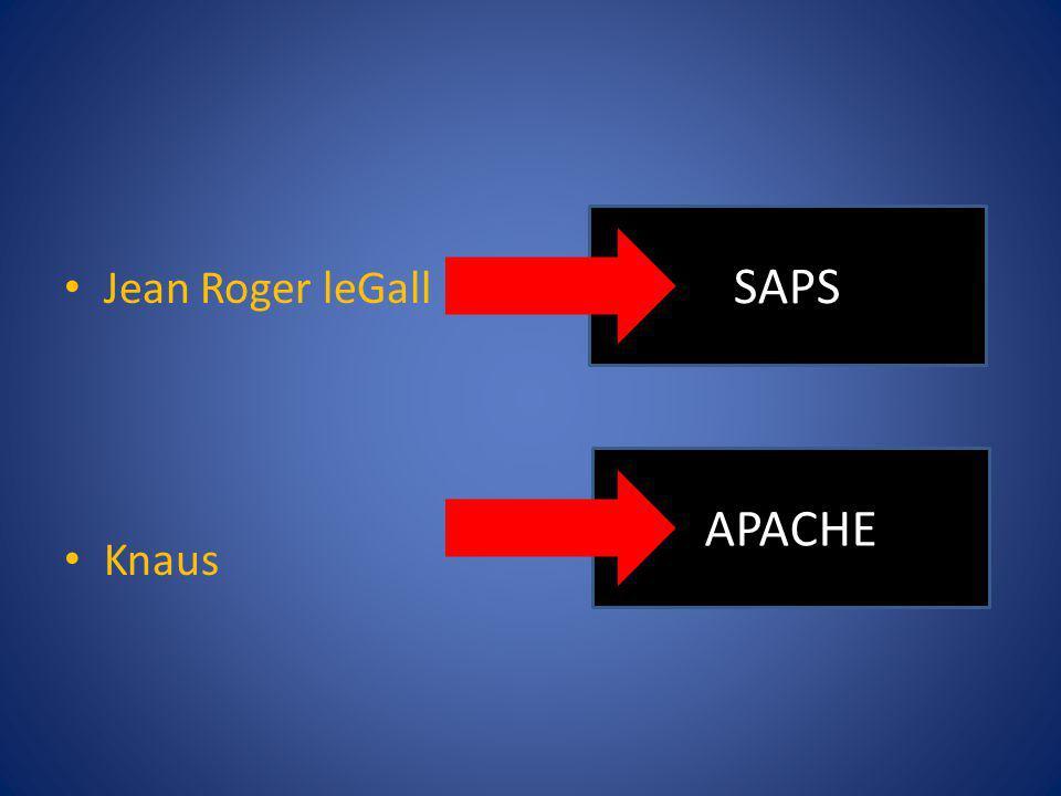 Jean Roger leGall Knaus SAPS APACHE
