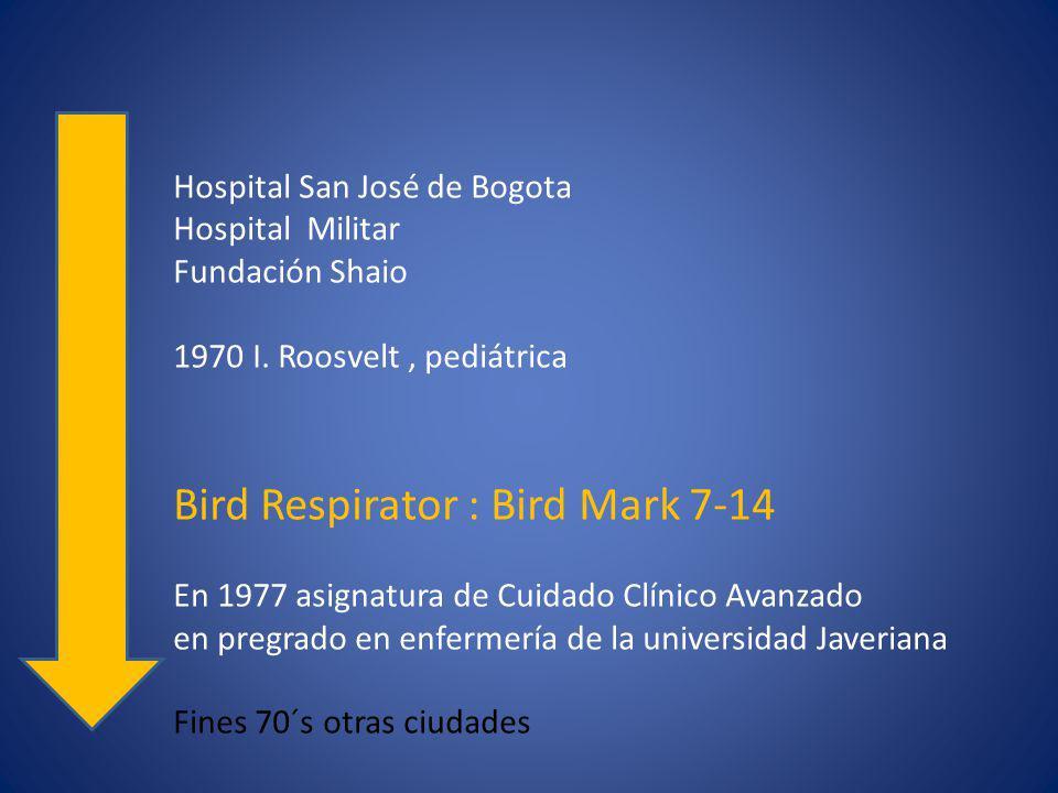 Hospital San José de Bogota Hospital Militar Fundación Shaio 1970 I.