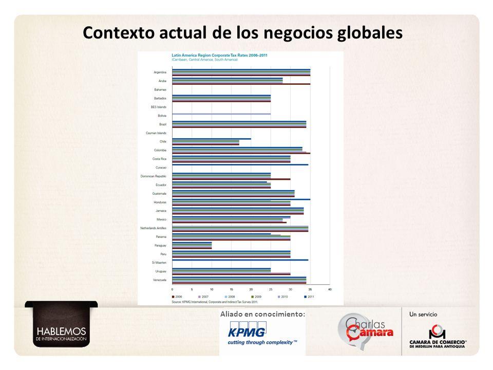 Aliado en conocimiento: Contexto actual de los negocios globales