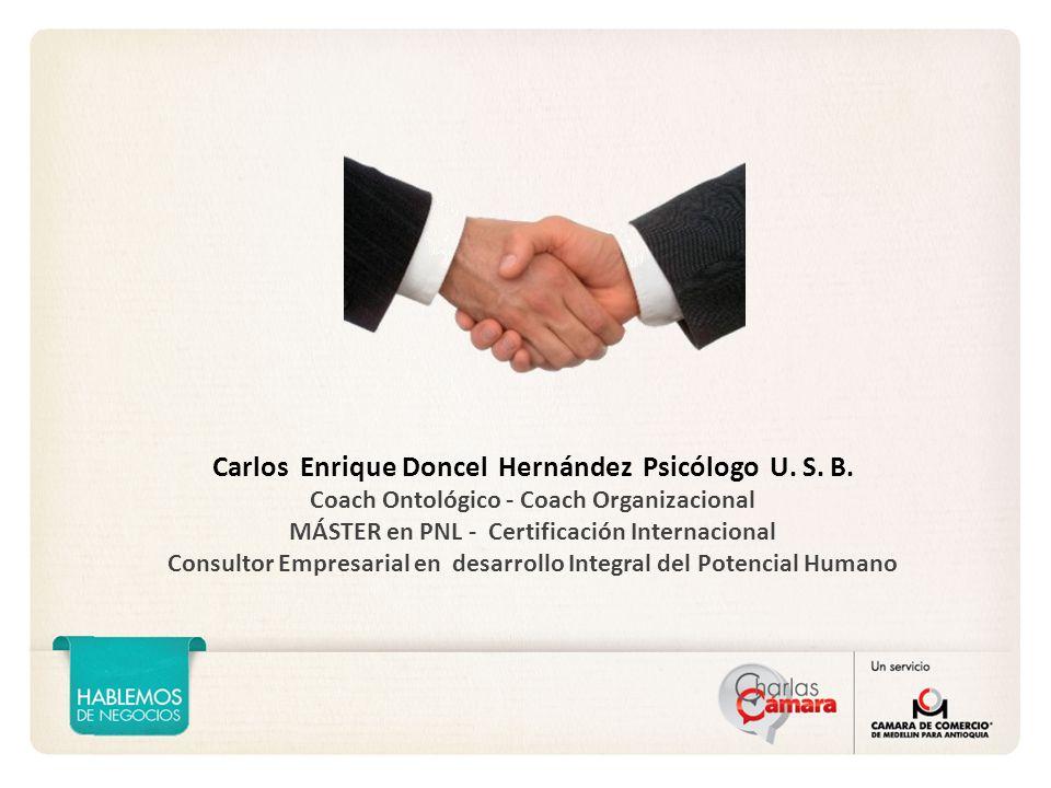Carlos Enrique Doncel Hernández Psicólogo U.S. B.