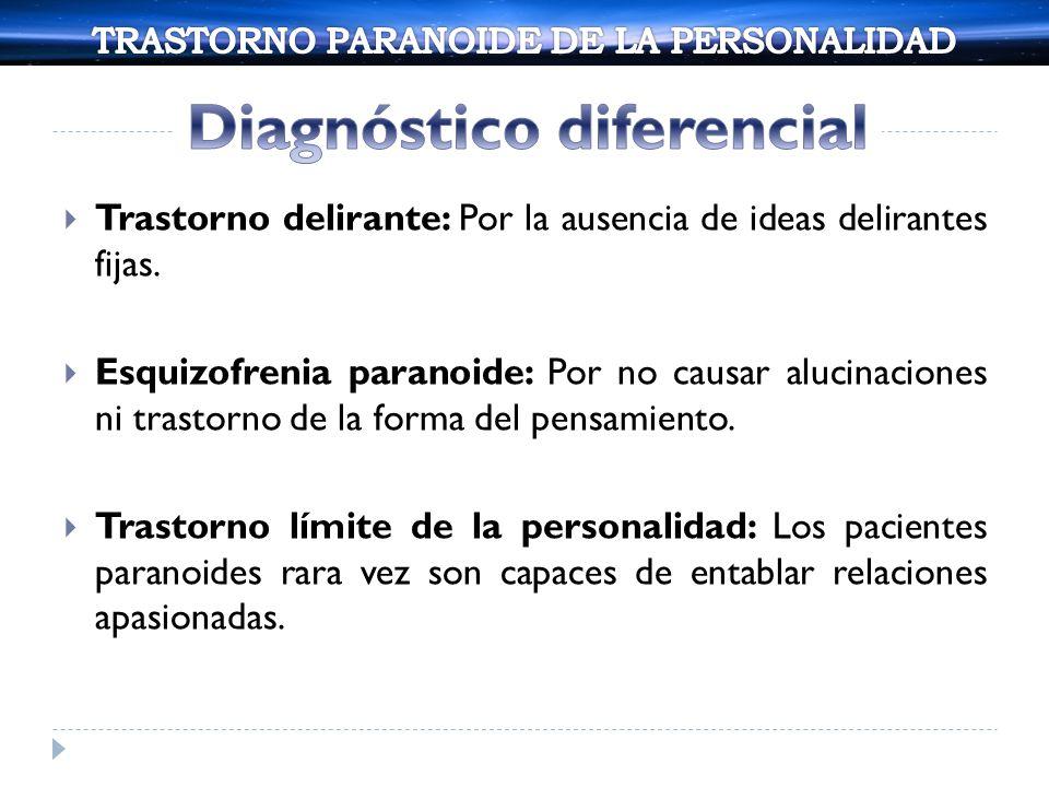Trastorno antisocial de la personalidad: Por no tener antecedentes de comportamiento antisocial.