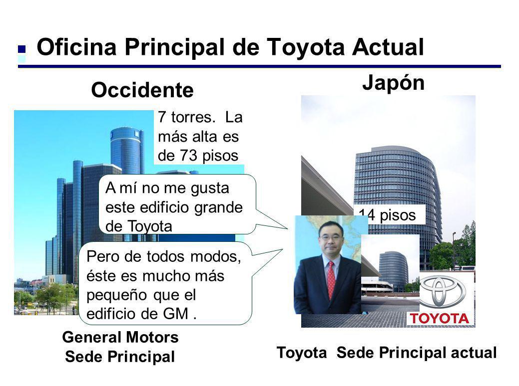 Oficina Principal de Toyota Actual General Motors Sede Principal Toyota Sede Principal actual Occidente Japón A mí no me gusta este edificio grande de