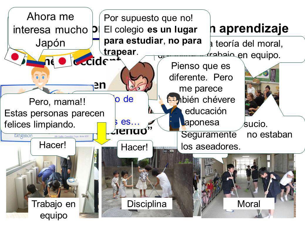 Manera Japonesa - Diferencia en aprendizaje Manera occidental Aprender entendiendo Manera japonesa Aprender haciendo Ya aprendí la teoría del moral, d