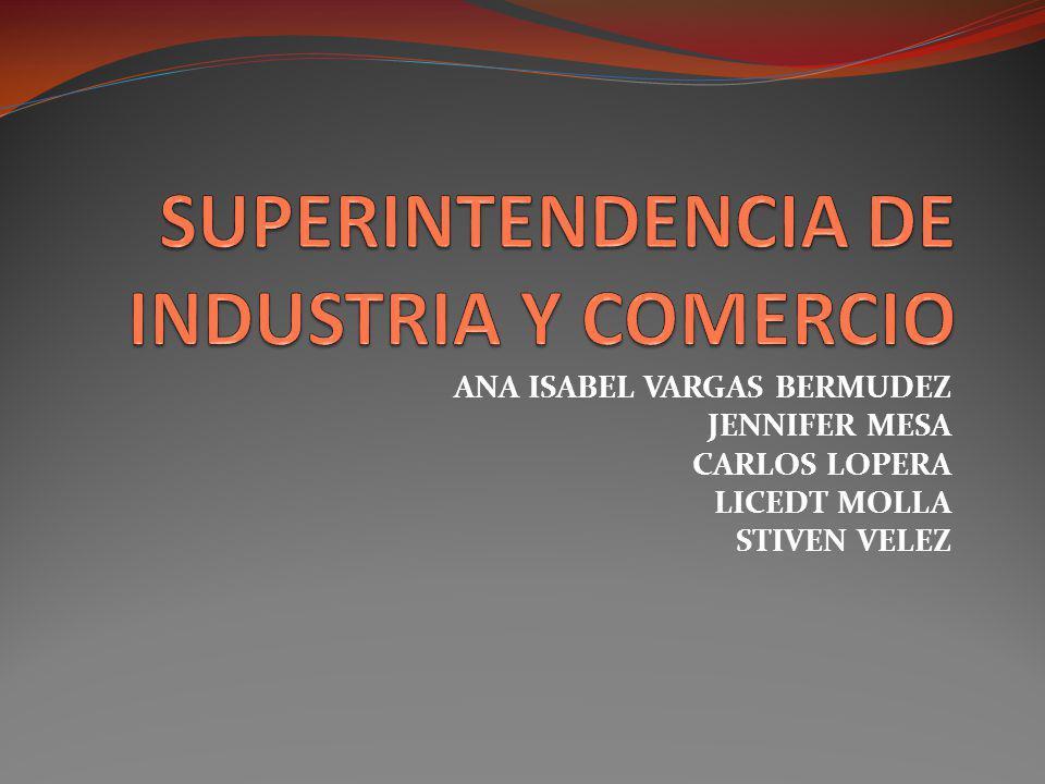 SIC(SUPERINTENDECIA DE INDUSTRIA Y COMERCIO La SIC(SUPERINTENDECIA DE INDUSTRIA Y COMERCIO) es una entidad que apoya el fortalecimiento de los procesos de desarrollo empresarial y los niveles de satisfacción del consumidor colombiano, para lo cual reconoce los derechos de propiedad industrial; propicia la adecuada prestación de los servicios de los registros públicos, cuya administración ha sido delegada a las cámaras de comercio; vigila el cumplimiento de los derechos de los consumidores.