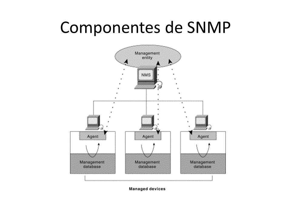 Componentes de SNMP