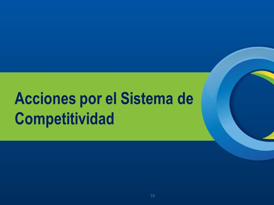 Acciones por el Sistema de Competitividad 16