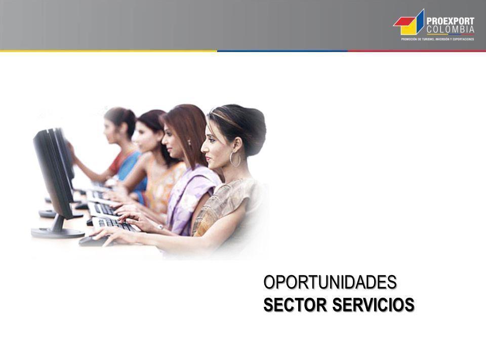OPORTUNIDADES SECTOR SERVICIOS