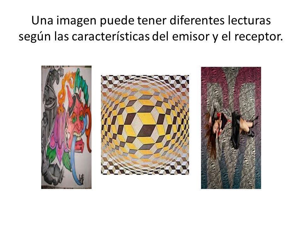 Una imagen puede tener diferentes lecturas según las características del emisor y el receptor.
