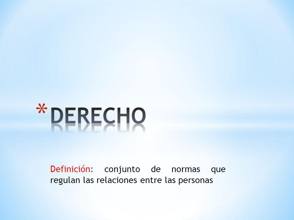 Derecho Privado: Civil, Comercial, Laboral, Familia.