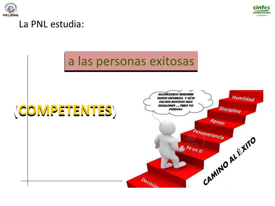 a las personas exitosas (COMPETENTES) La PNL estudia: