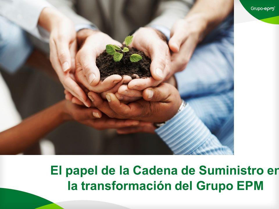 El papel de la Cadena de Suministro en la transformación del Grupo EPM