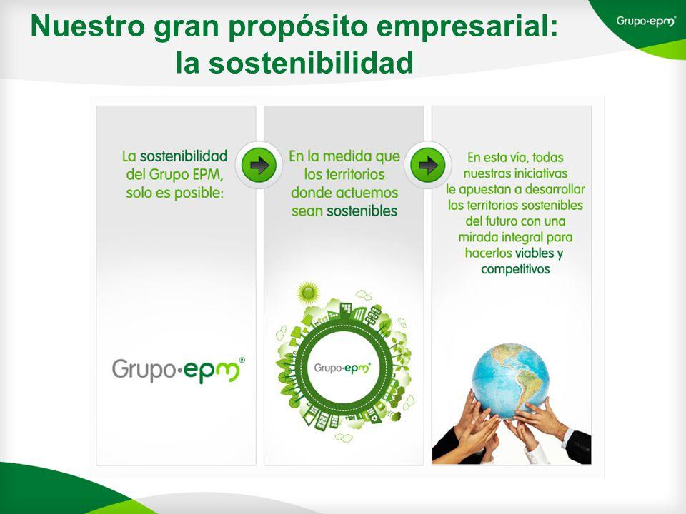 Nuestro gran propósito empresarial: la sostenibilidad