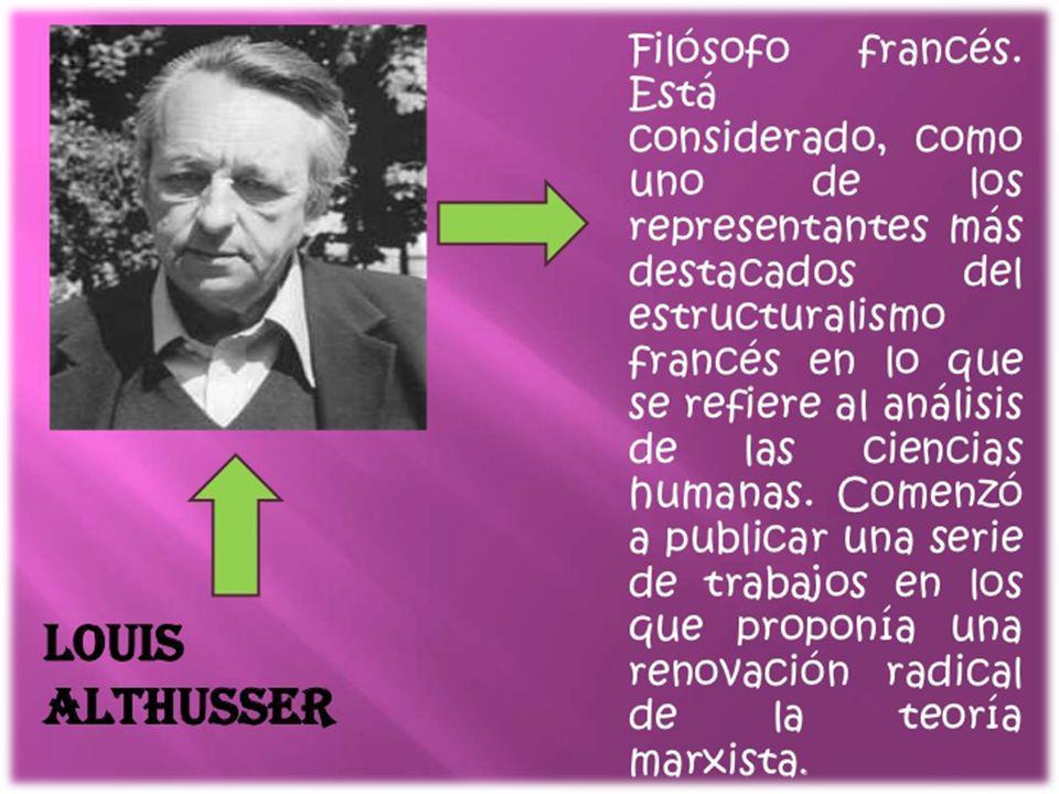 Louis Althusser nació en Birmandreis, Argelia francesa y estudió en la Escuela Normal Superior (Francia en París, donde más tarde se convirtió en profesor de Filosofía.