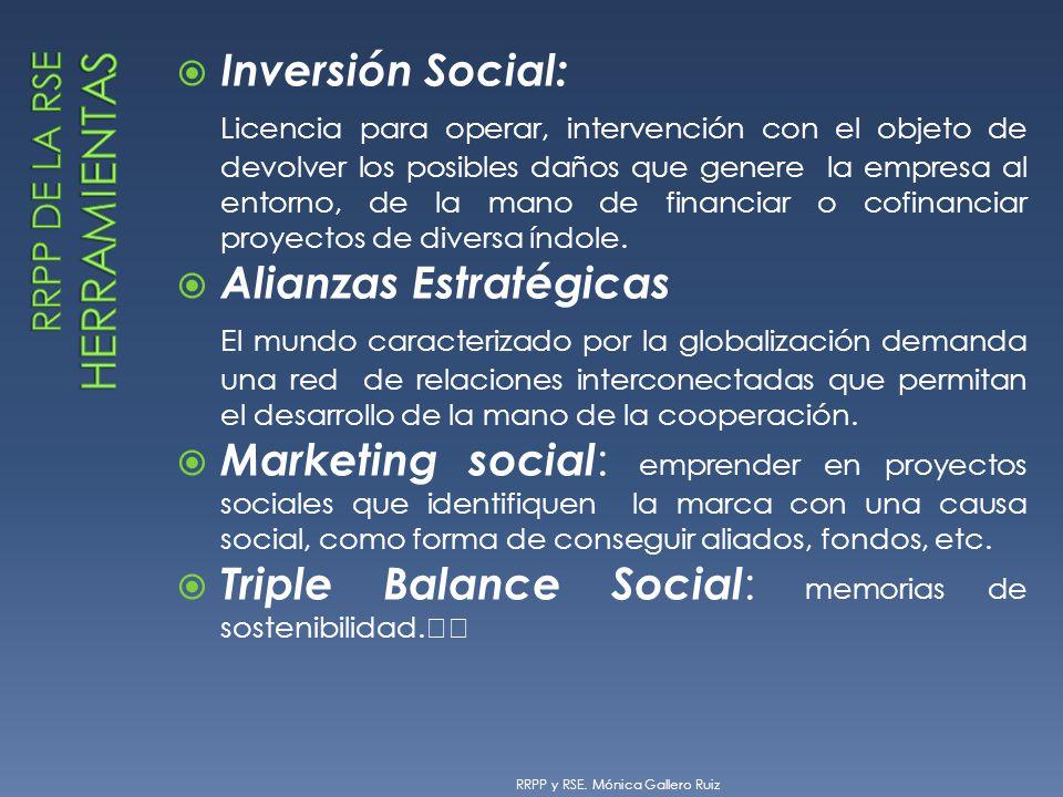 Inversión Social: Licencia para operar, intervención con el objeto de devolver los posibles daños que genere la empresa al entorno, de la mano de fina