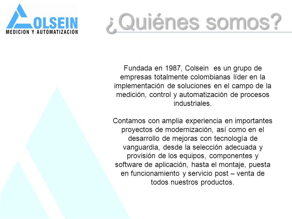 ¿Quiénes somos? Fundada en 1987, Colsein es un grupo de empresas totalmente colombianas líder en la implementación de soluciones en el campo de la med