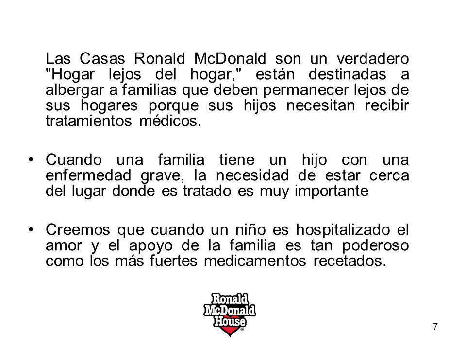 Las Casas Ronald McDonald son un verdadero