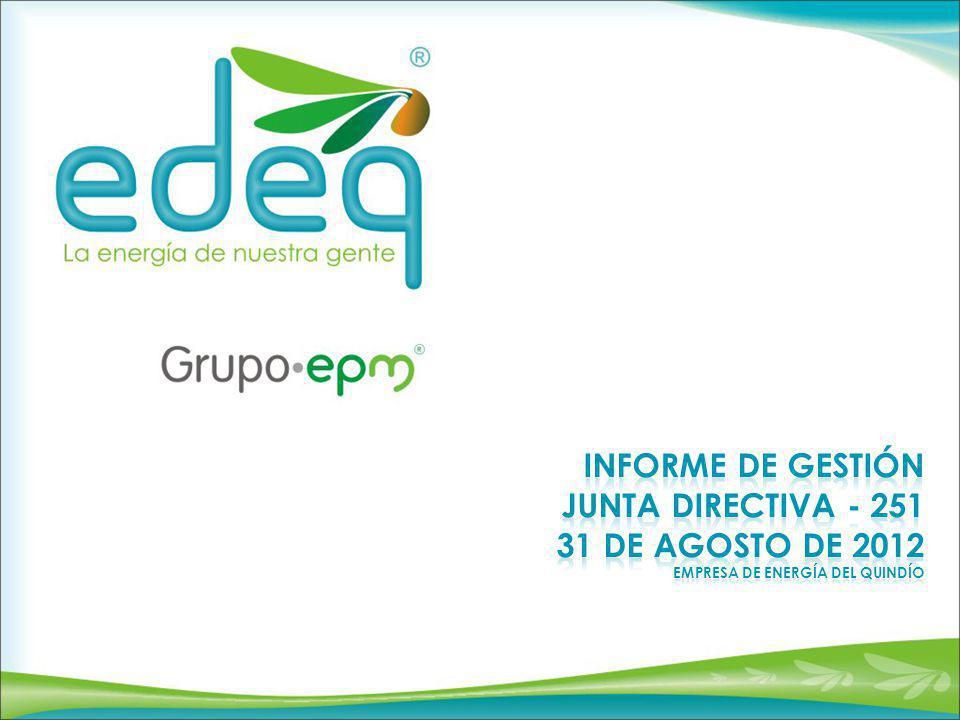PARTICIPACIÓN EDEQ88.16% OC11.84% Participación mercado Junio de 2012 Ing.