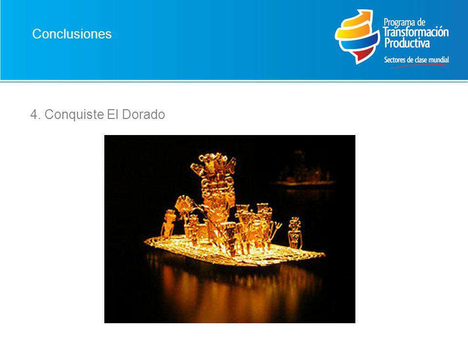 4. Conquiste El Dorado Conclusiones