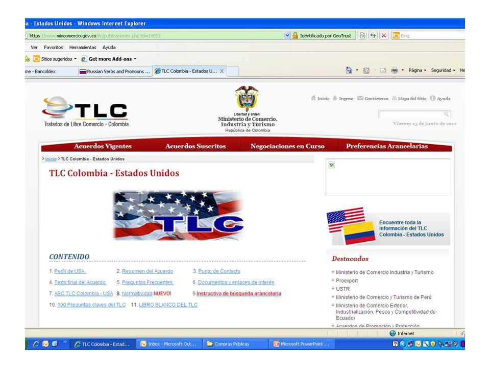 http://www.fedbizopps.govhttp://www.fedbizopps.gov/ Punto único de entrada para compras públicas federales sobre US$ 25.000.