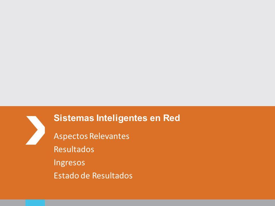 Aspectos Relevantes Resultados Ingresos Estado de Resultados Sistemas Inteligentes en Red