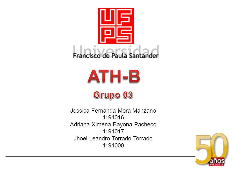 Jessica Fernanda Mora Manzano 1191016 Adriana Ximena Bayona Pacheco 1191017 Jhoel Leandro Torrado Torrado 1191000