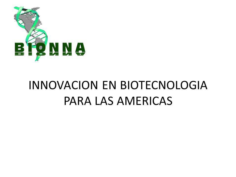 INNOVACION EN BIOTECNOLOGIA PARA LAS AMERICAS