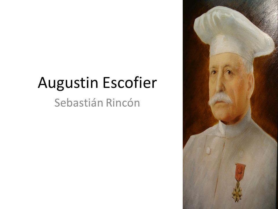 Augustin Escofier Sebastián Rincón