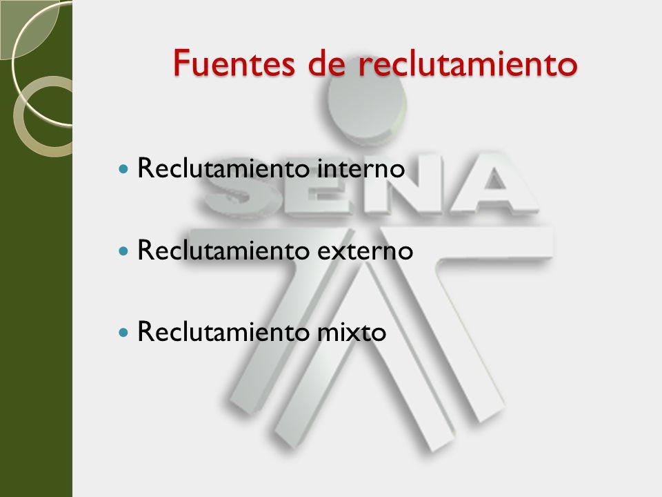 SELECCIÓN DEL PERSONAL Una vez que se dispone de un grupo idóneo de solicitantes obtenido mediante el reclutamiento, se da inicio al proceso de selección, que implica una serie de pasos que consumen cierto tiempo.