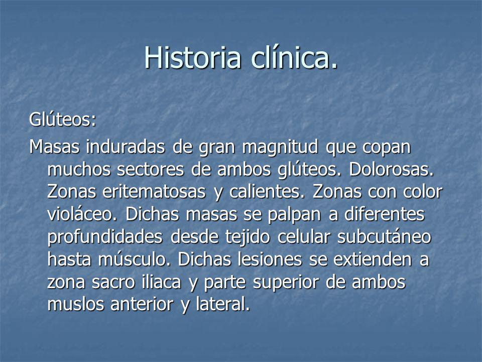 Historia clínica.