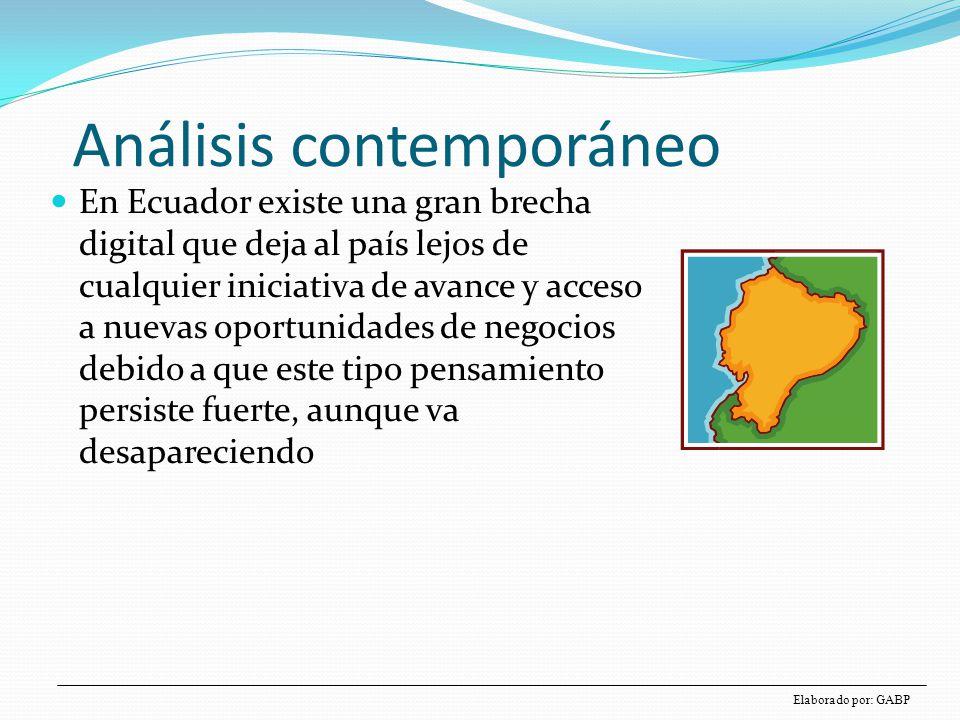 Modelo de Nolan: brecha digital Inversión en TICs Tiempo IniciaciónContagioControlIntegración Administra ción de datos Madurez Etapas Inmadurez Es pasar de visión no comercial de las TICs a visión de negocios de las TICs TÉCNICOS