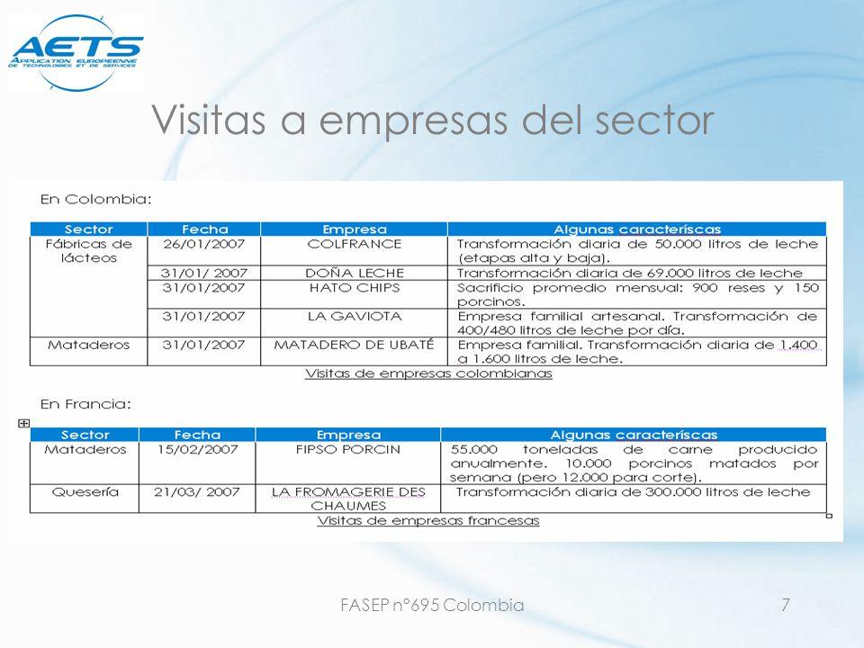 FASEP n°695 Colombia18 Pretratamientos posibles oLimpiadores de rejillas, tamizadores automáticos oDesengrasadores: oDesarendor/desengrasador ; aireador flotador oEtapa de coagulación / floculación