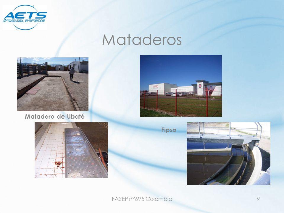 FASEP n°695 Colombia20 Mejorar la eficiencia de sistemas existentes & valorización o Adición de microorganismos y substancias minerales (aceleración de la hidrólisis) o Ventiladores (aumento de la concentración en oxígeno disuelto para lodos activados).
