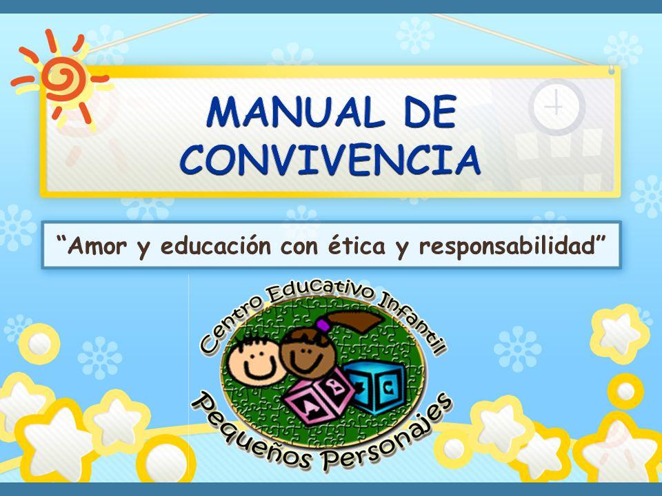 El niño del Centro Educativo Infantil Pequeños Personajes, tiene derecho a: Recibir atención y afecto por parte del personal que labora en la Institución.