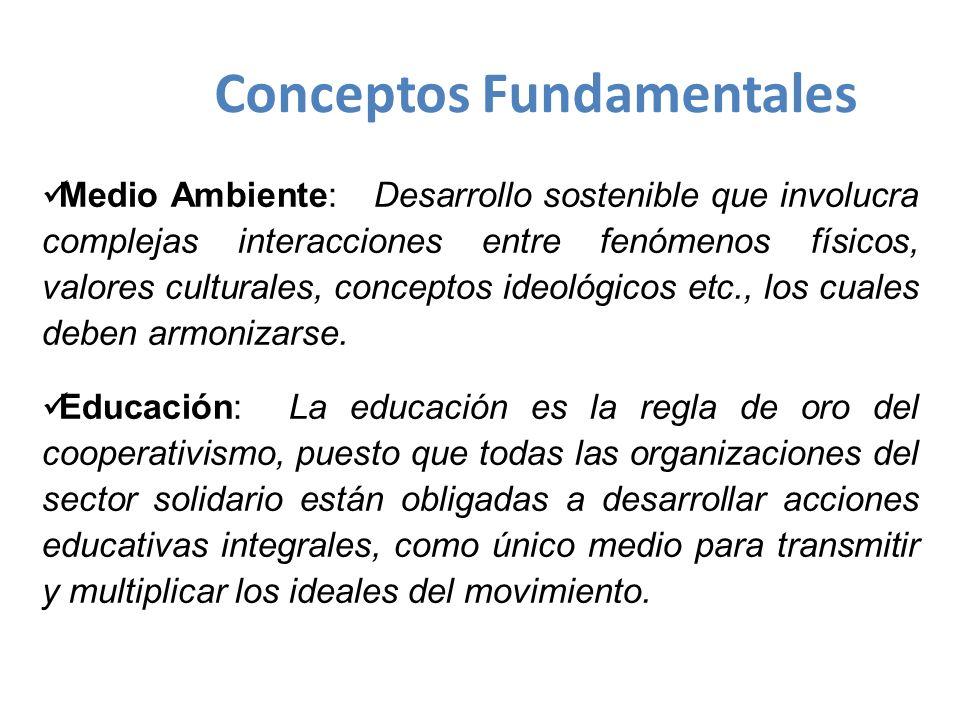 zAdquirir conocimiento sobre los principios básicos del cooperativismo.