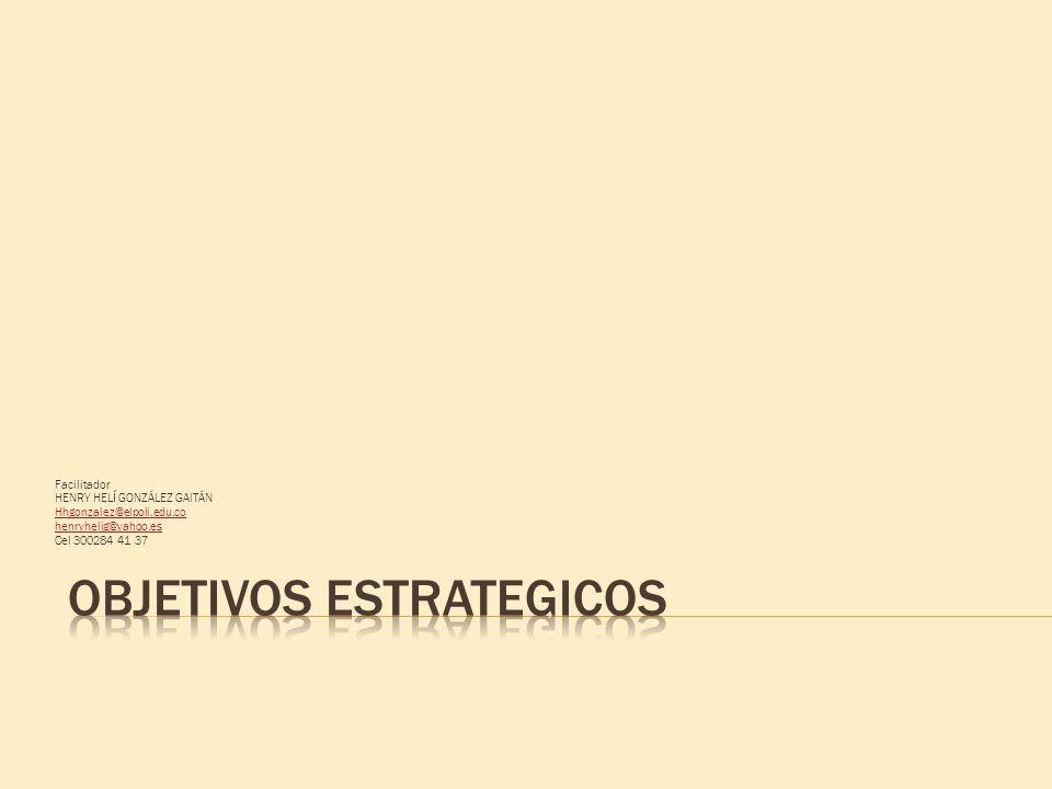 Facilitador HENRY HELÍ GONZÁLEZ GAITÁN Hhgonzalez@elpoli.edu.co henryhelig@yahoo.es Cel 300284 41 37