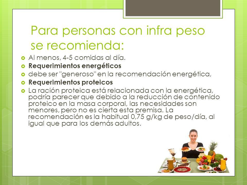 Requerimientos de carbohidratos La Asociación Americana de Cardiología y Cáncer recomienda aportar en forma de carbohidratos del 55-60% del valor calórico total de la dieta.